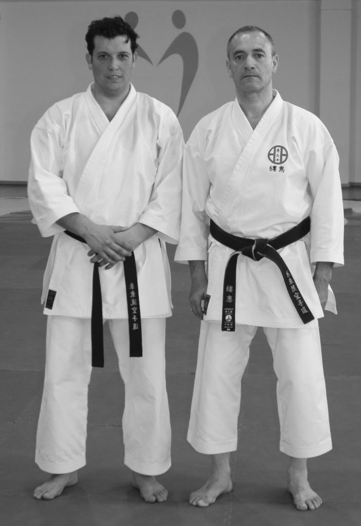 Jean Eric Luqué Sensei y Jacob Sánchez