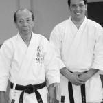 Mizuguchi Sensei y Jacob Sánchez