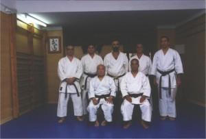 1ª Visita del Soke Mabuni a España
